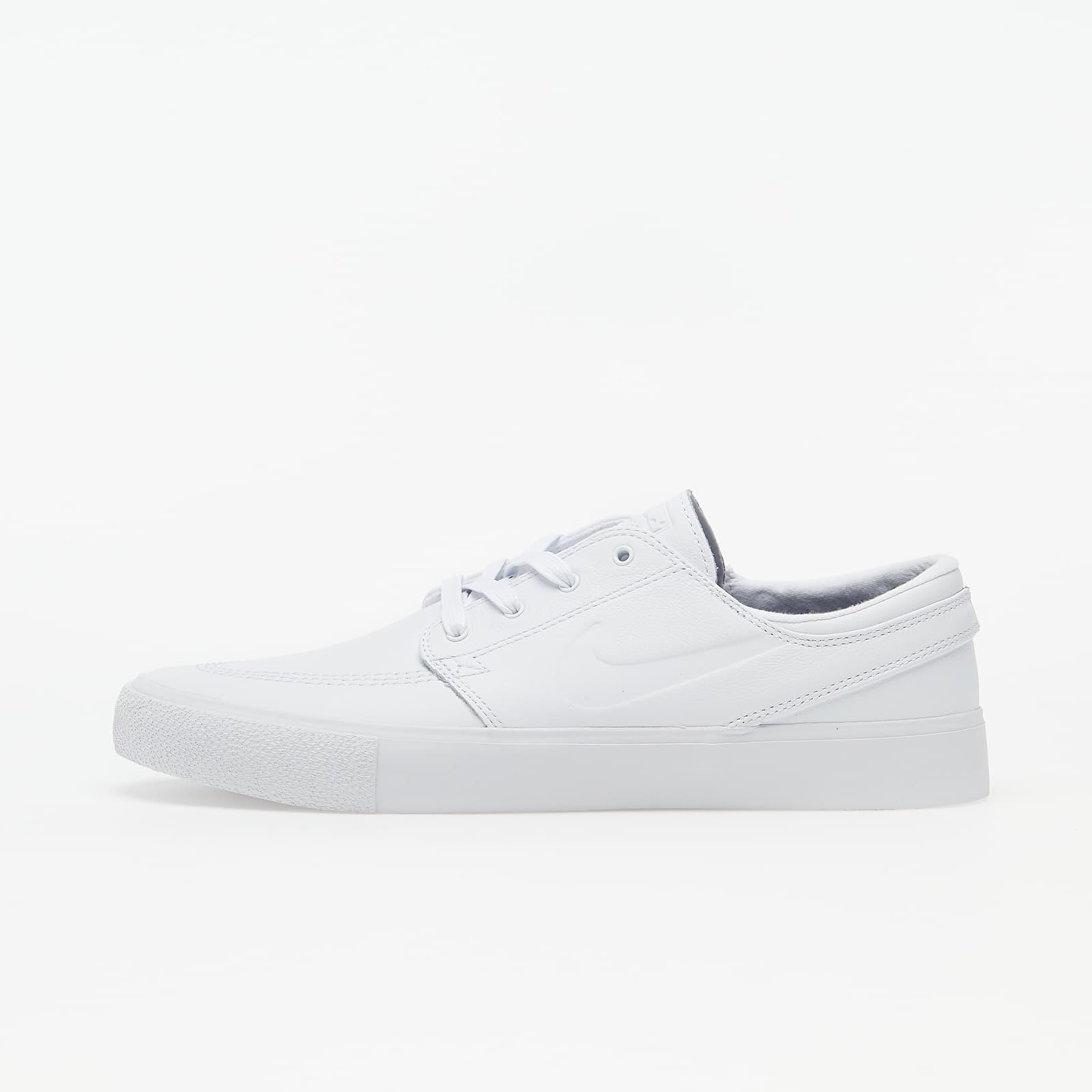 Oblicuo recompensa revolución  Men's shoes Nike SB Zoom Stefan Janoski RM Premium White/ White-White    Footshop