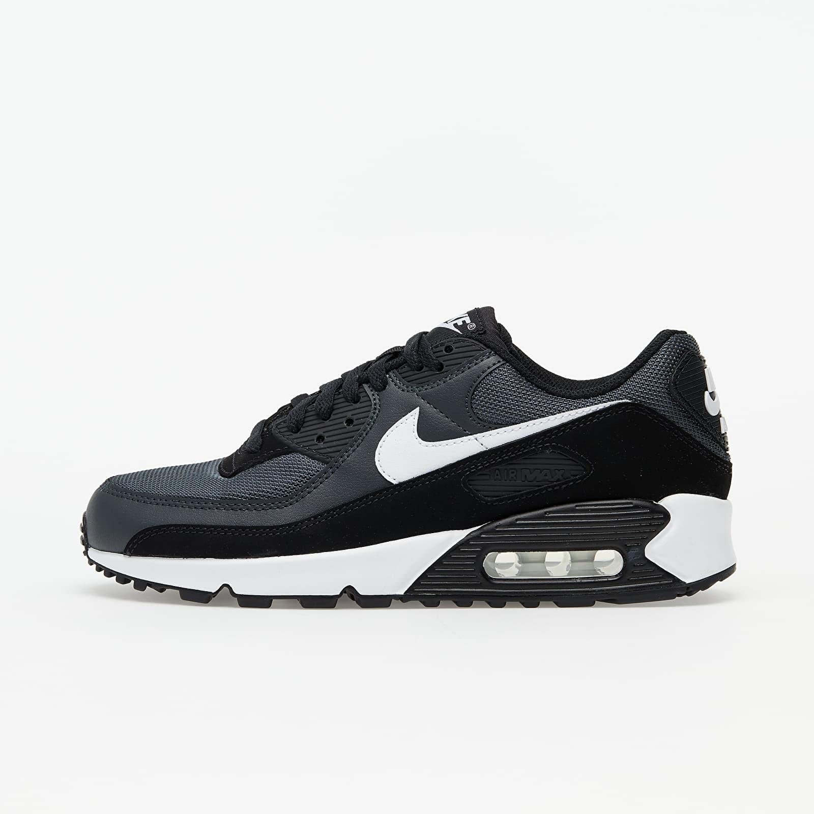 Nike Air Max 90 Iron Grey/ White-Dk Smoke Grey-Black EUR 44