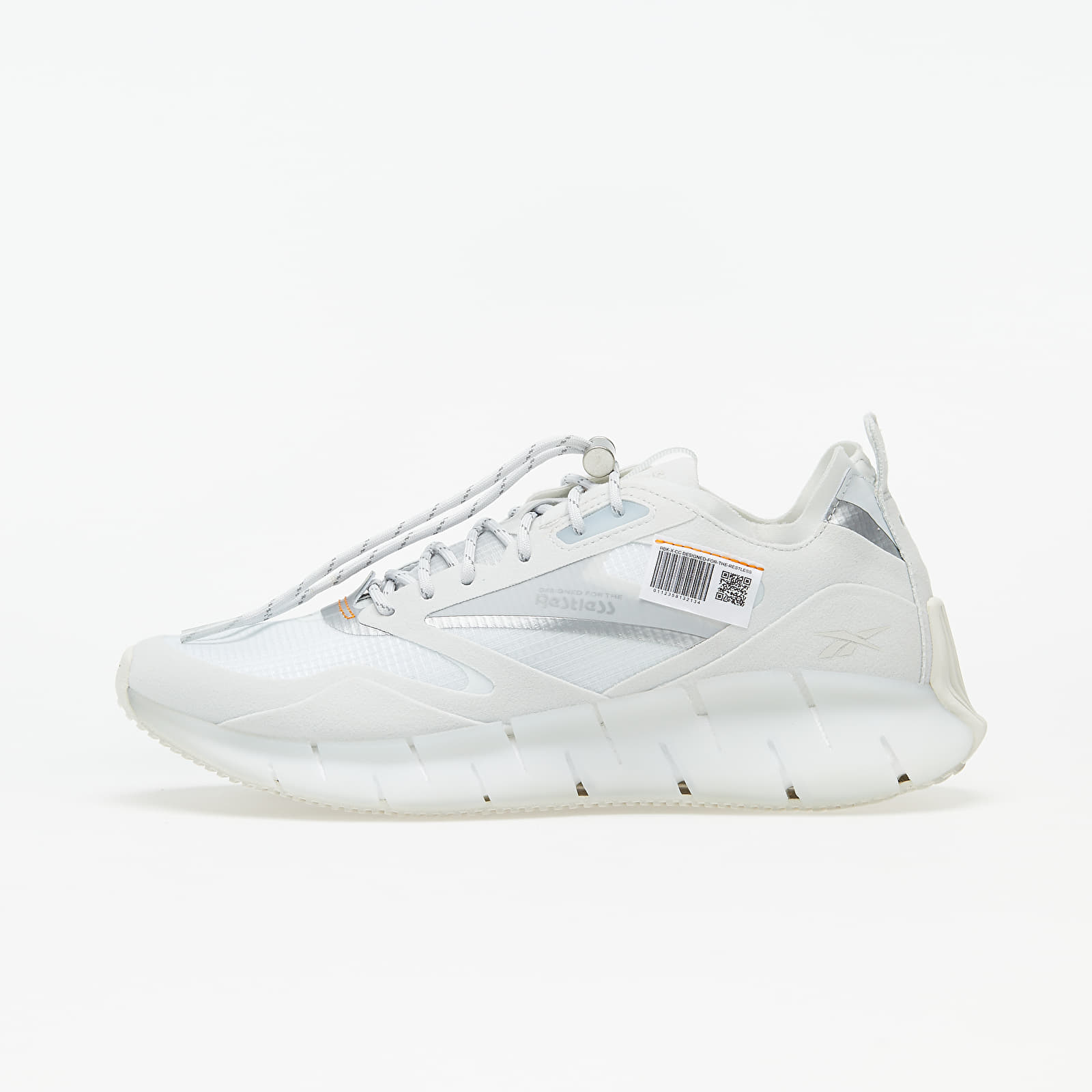 Women's shoes Reebok Zig Kinetica Horizon Trace Grey 1/ White/ High Vivid Orange