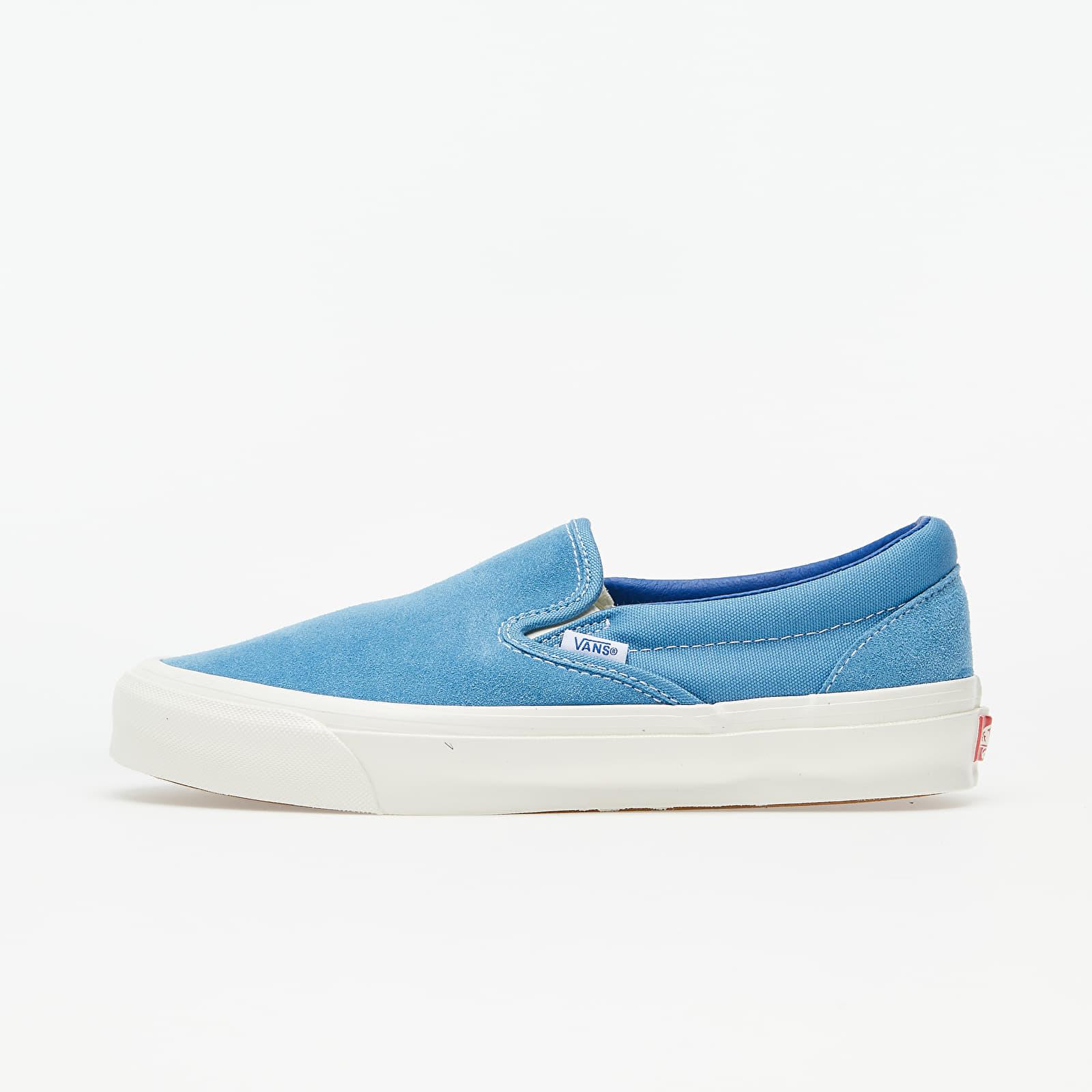 Men's shoes Vans OG Classic Slip-On (Suede/ Canvas) Night Raind