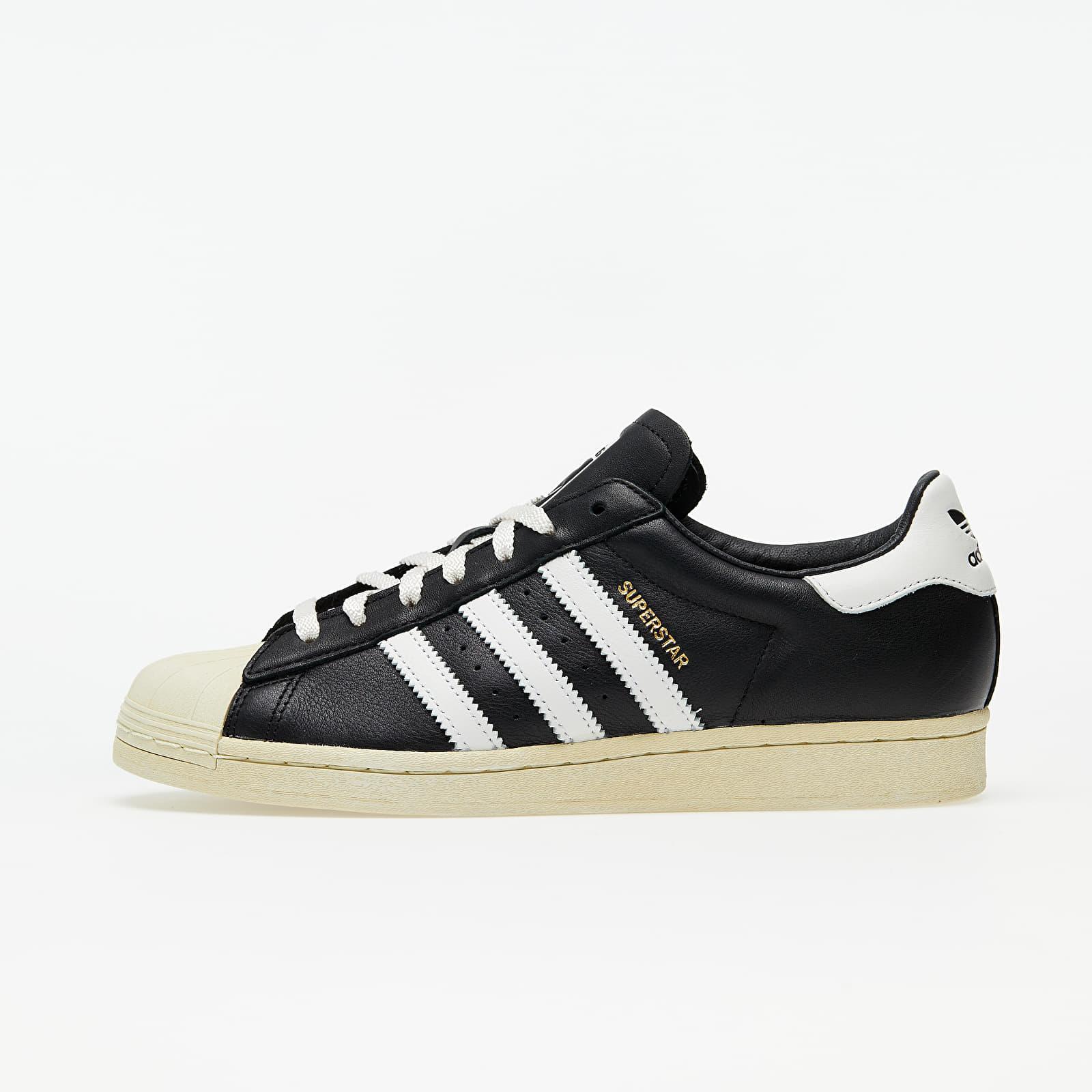 Men's shoes adidas Superstar Core Black/ Crystal White/ Blue