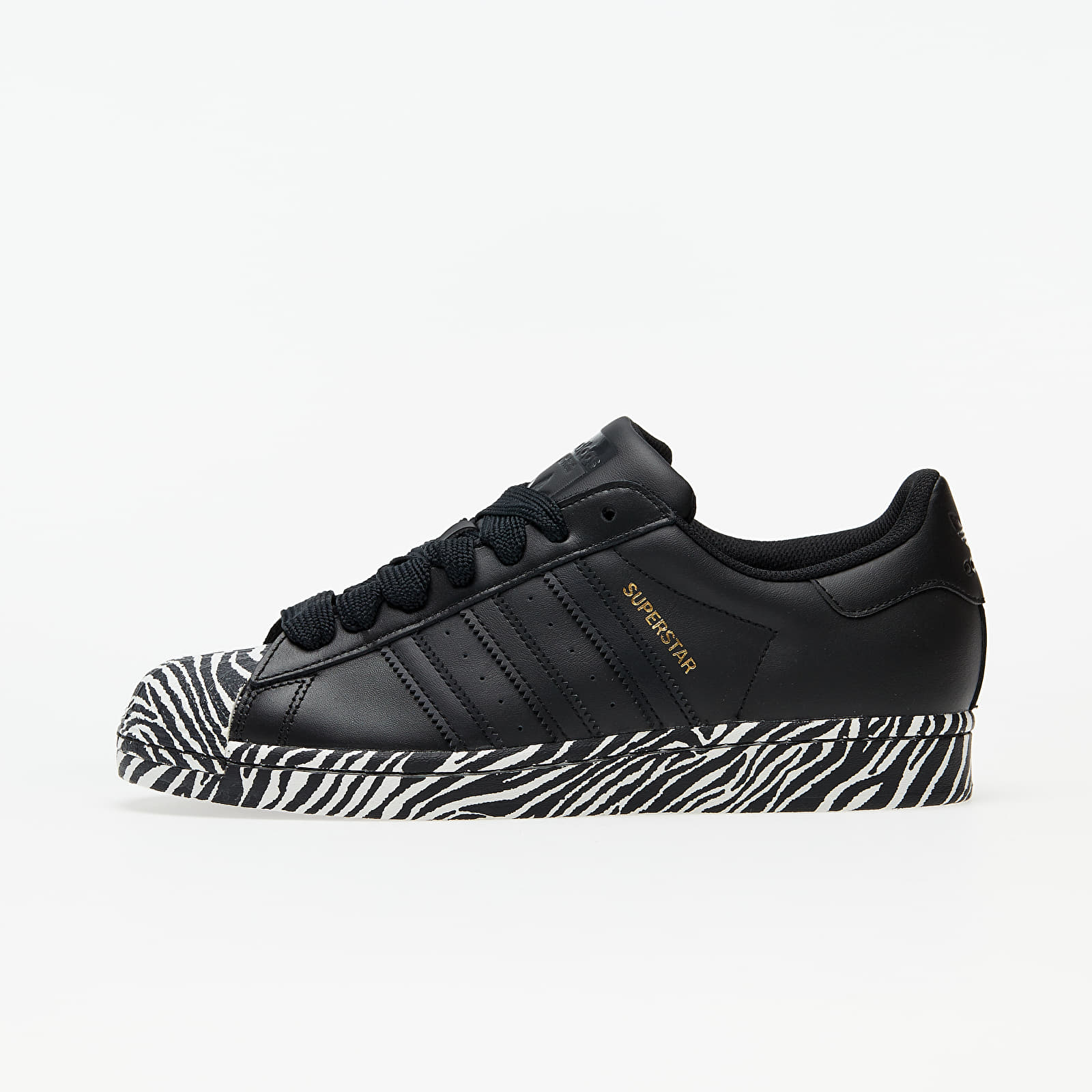 adidas Superstar W Core Black/ Gold Metalic/ Ftw White EUR 41 1/3