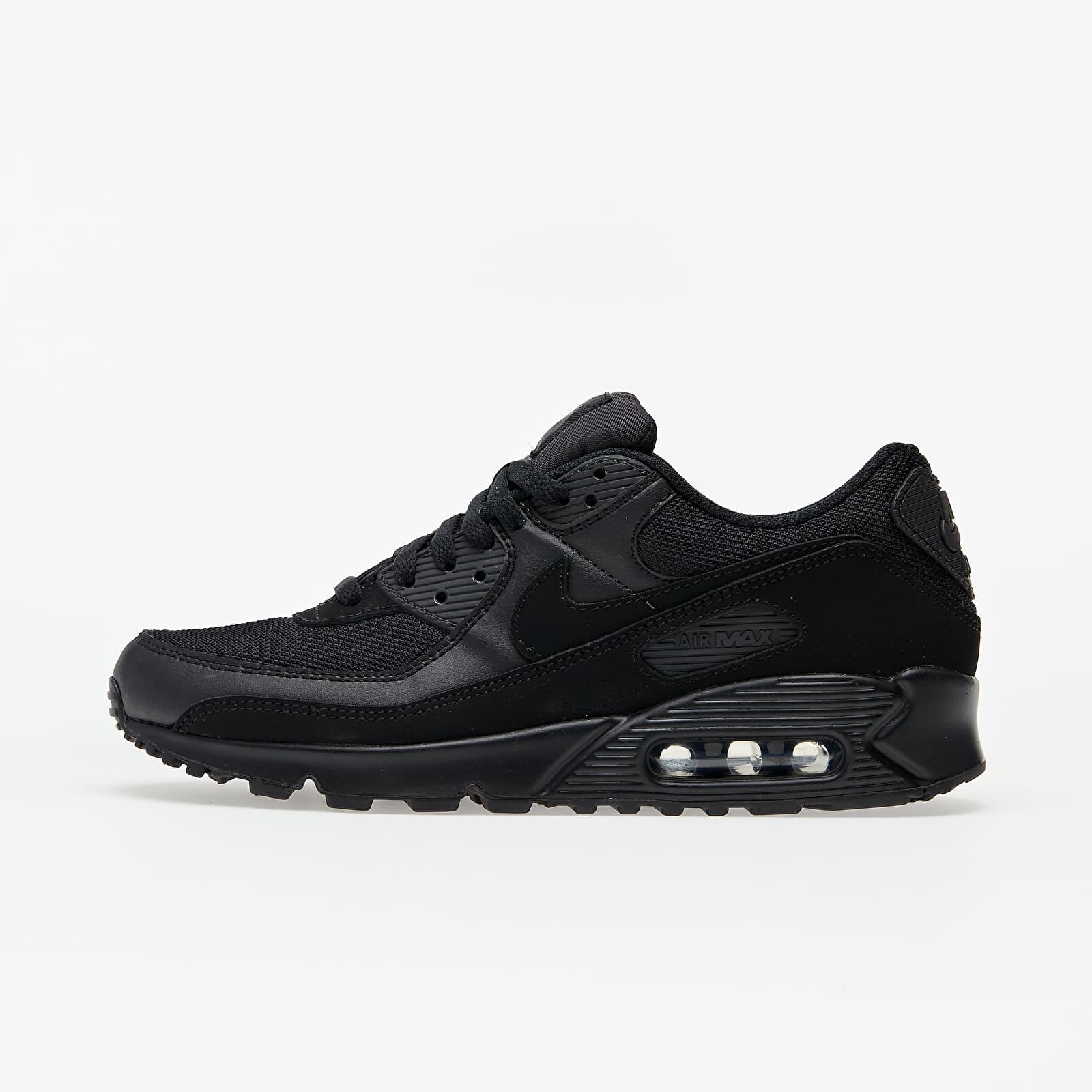 Männer Nike Air Max 90 Black/ Black-Black-White