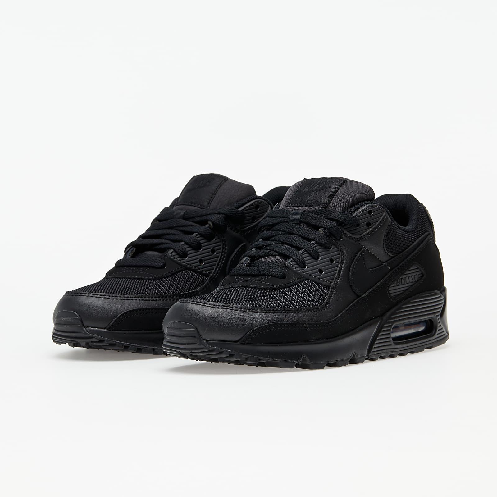 Nike Air Max 90 Black/ Black-Black-White EUR 43