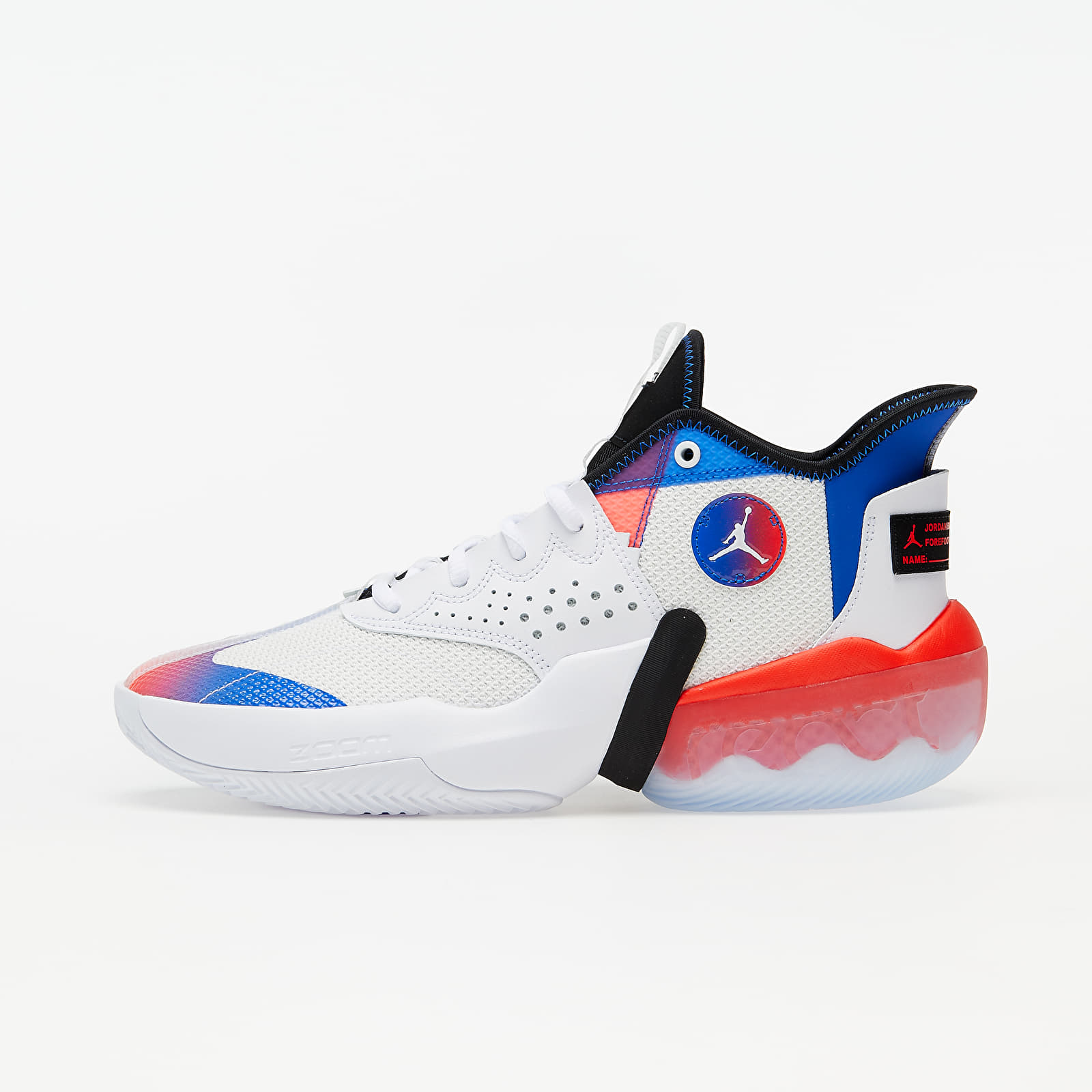 Jordan React Elevation White/ Infrared 23-Black-Hyper Royal EUR 41