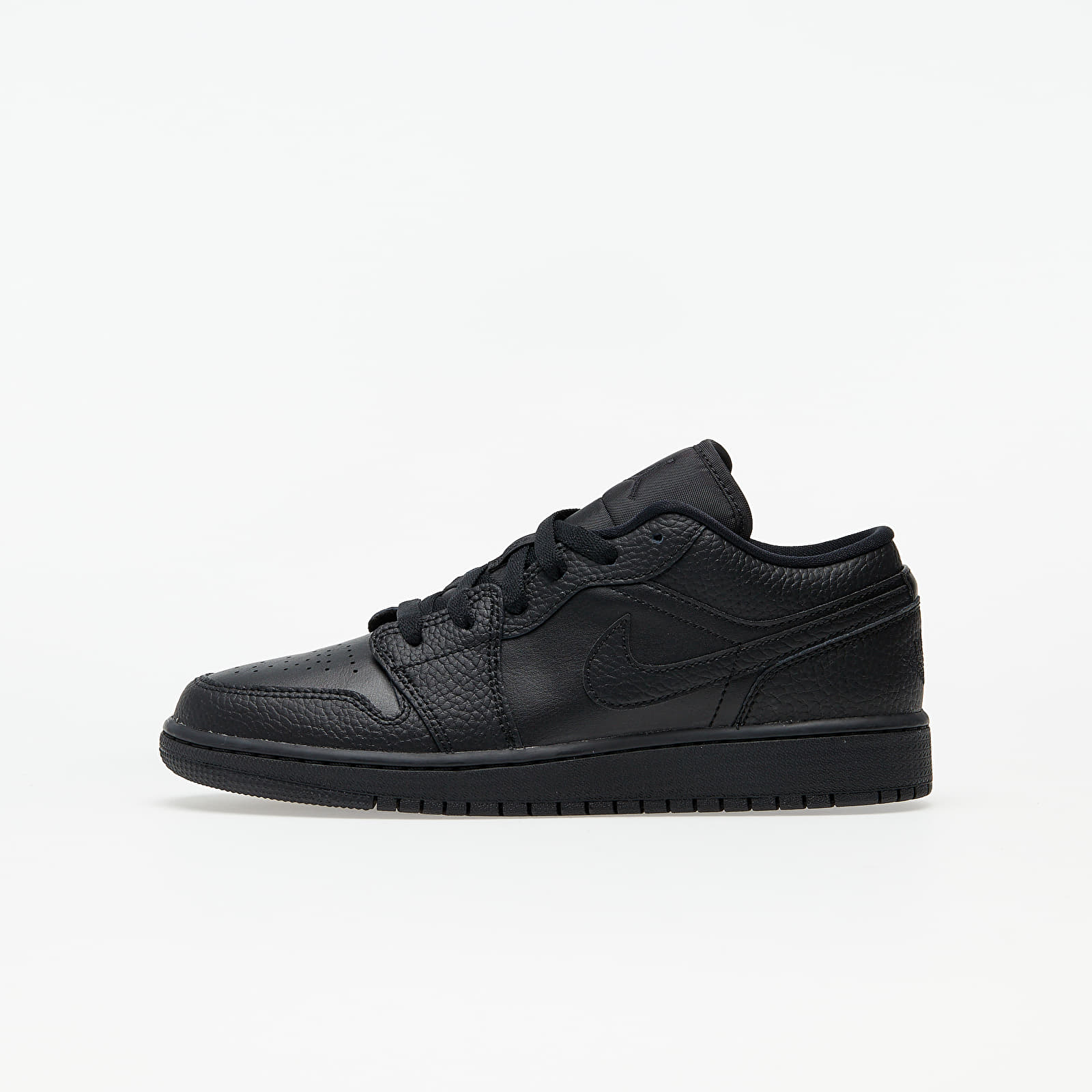 Kid´s shoes Air Jordan 1 Low (GS) Black/ Black-Black