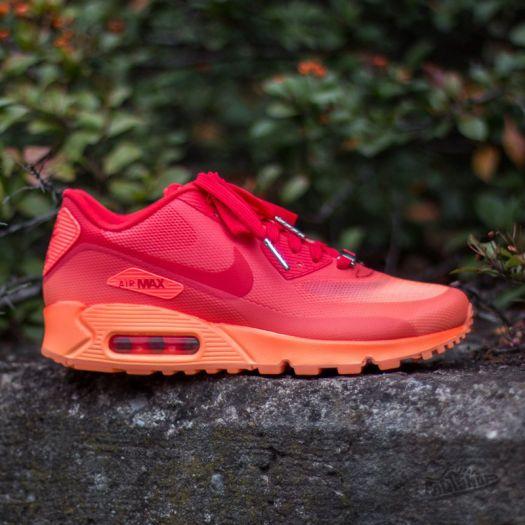 Nike Wmns Air Max 90 HYP QS Hyper Orange Chilling Red Atomic Orange   Footshop