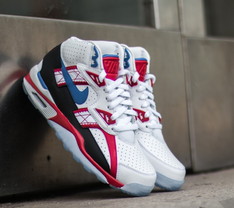 a66442928f6 Nike Air Trainer SC High LE QS White  Game Royal- Gym Red- Black