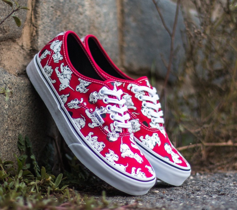 Vans Authentic DISNEY Dalmatians  Red  d96f64ae576