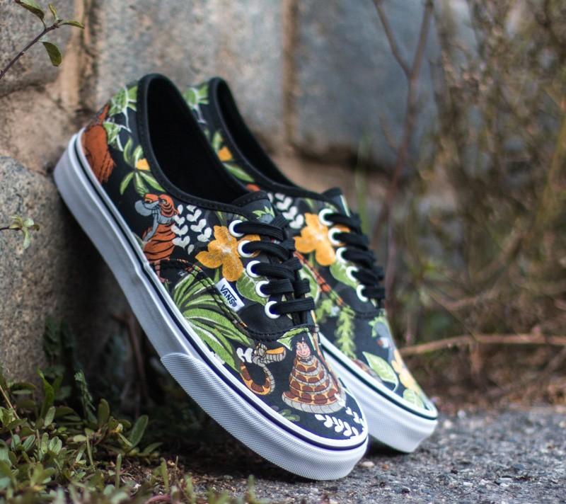 0e5855ab2116 Vans Authentic DISNEY The Jungle Book  Black