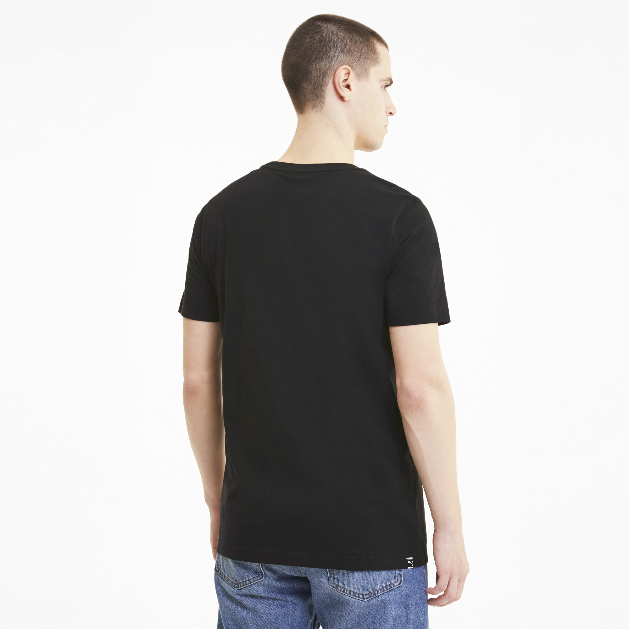 Puma Club Graphic Tee Puma Black