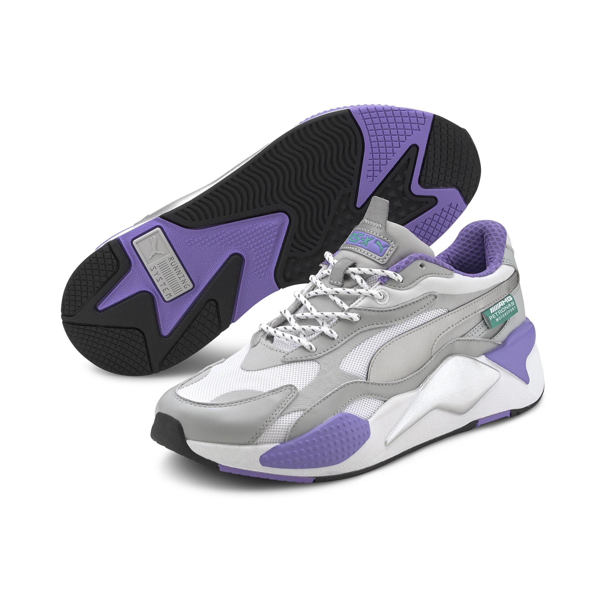 Puma MAPM RS-X³ Mrcds Tm Silver-White-Luminous Purple, Gray