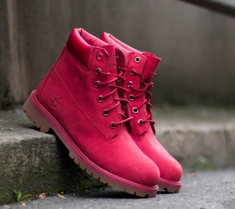 1c707baf57 Timberland 6 in Premium WP Boot Red | Footshop