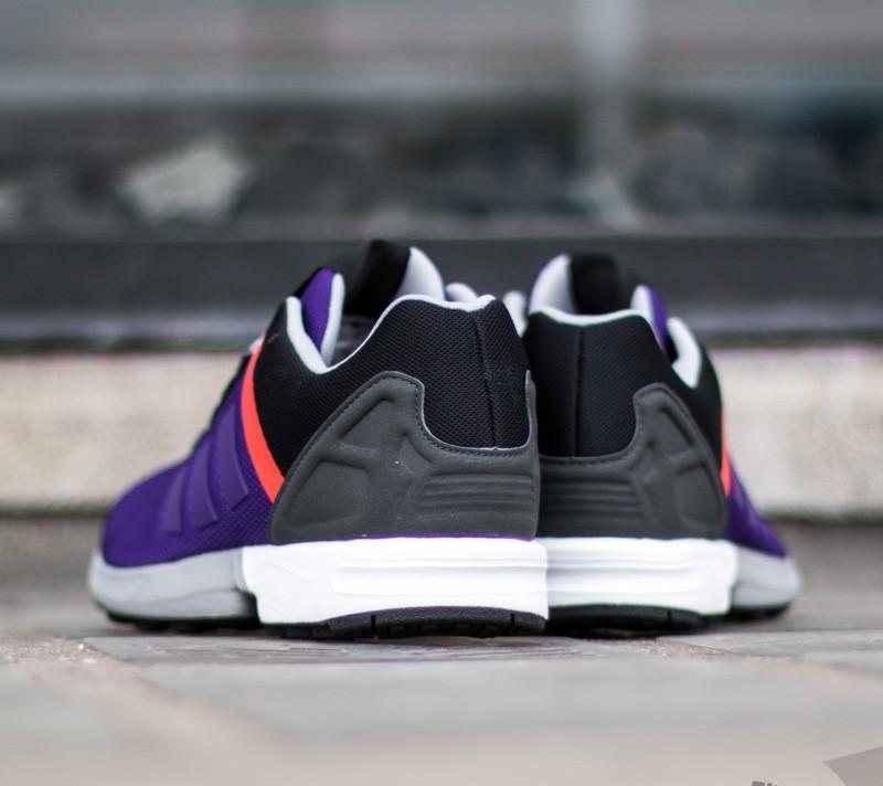 adidas zx flux violet orange