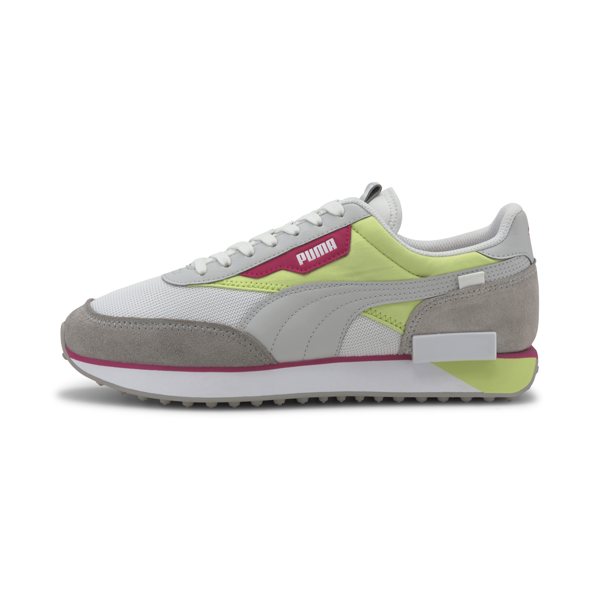 Puma Future Rider Neon Play Grey Violet-Sharp Puma Green, Purple