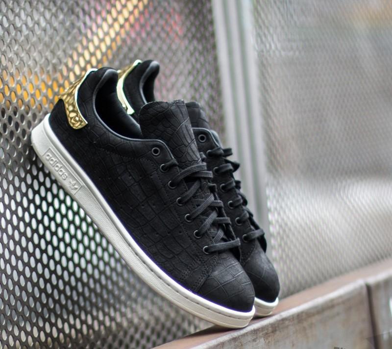 ace4d50a1e46 adidas Stan Smith Metal Core Black  Core Black  Gold Metal
