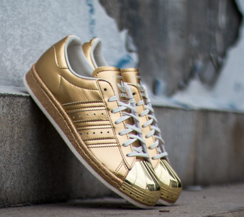 newest bff82 6d071 adidas Superstar 80s Metallic Pack Gold Metal/ Gold Metal/ O ...