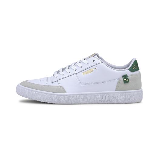 Puma Ralph Sampson MC Clean Puma White-Amazon Green-Puma White | Footshop