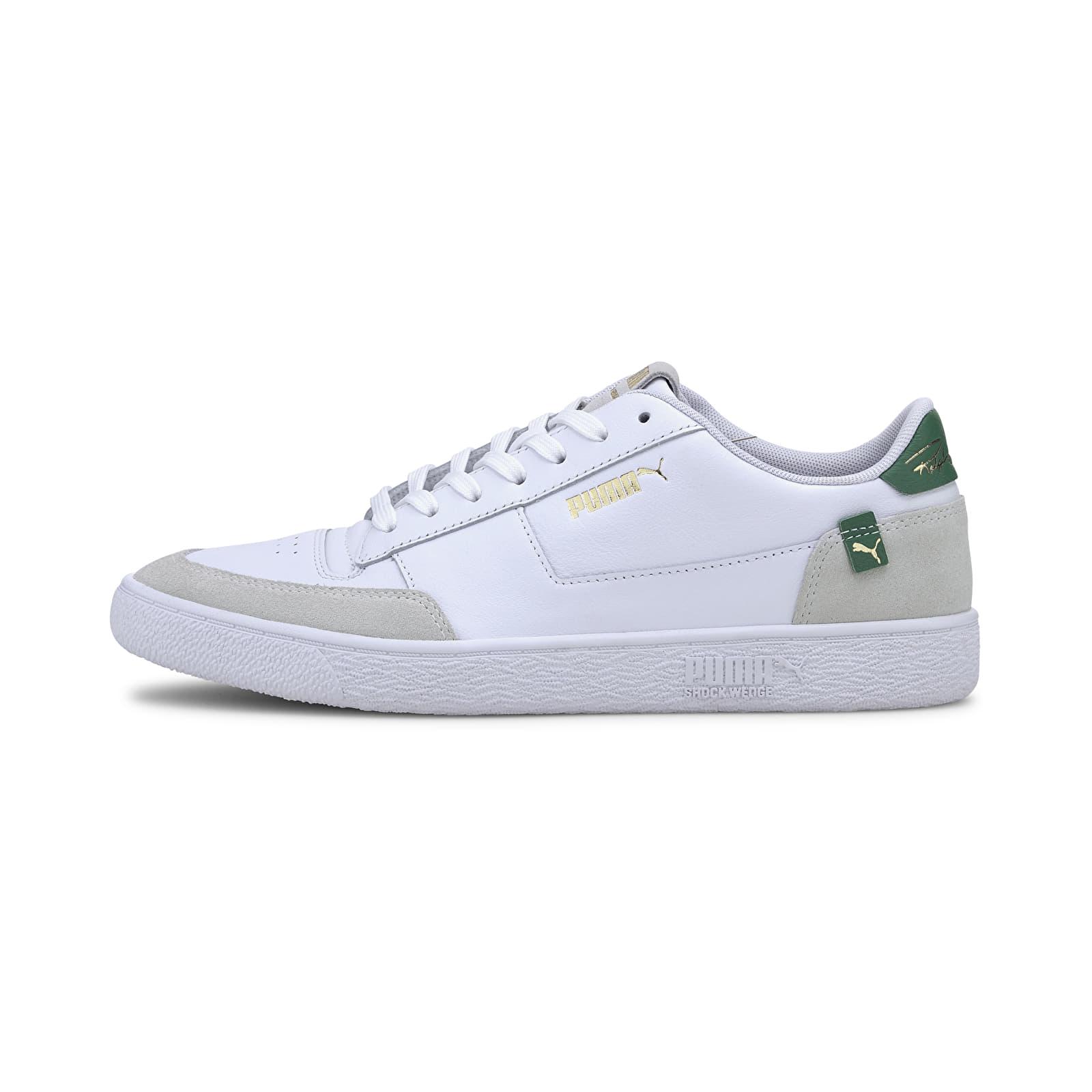 Puma Ralph Sampson MC Clean Puma White-Amazon Green-Puma White   Footshop