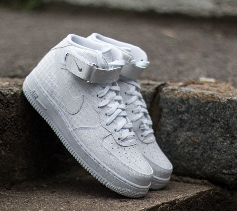 new styles b5fd6 22ec5 Nike Air Force 1 Mid ´07 LV8 White White