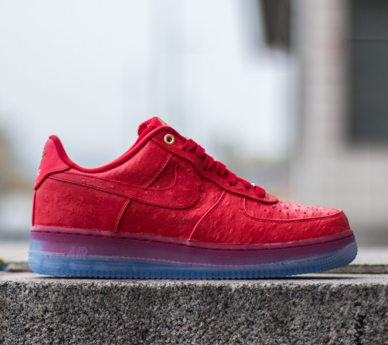 Air Force Low University Lux Red Nike Comfort 1 eDYW2EHI9