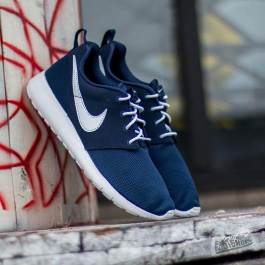 online store b098a f91d4 Nike Roshe One (GS) Midnight Navy/ White | Footshop