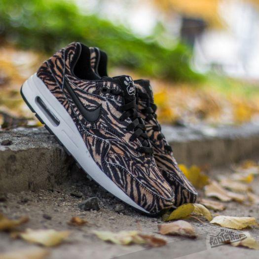 Nike Air Max 1 QS (GS) Tawny Black White   Footshop