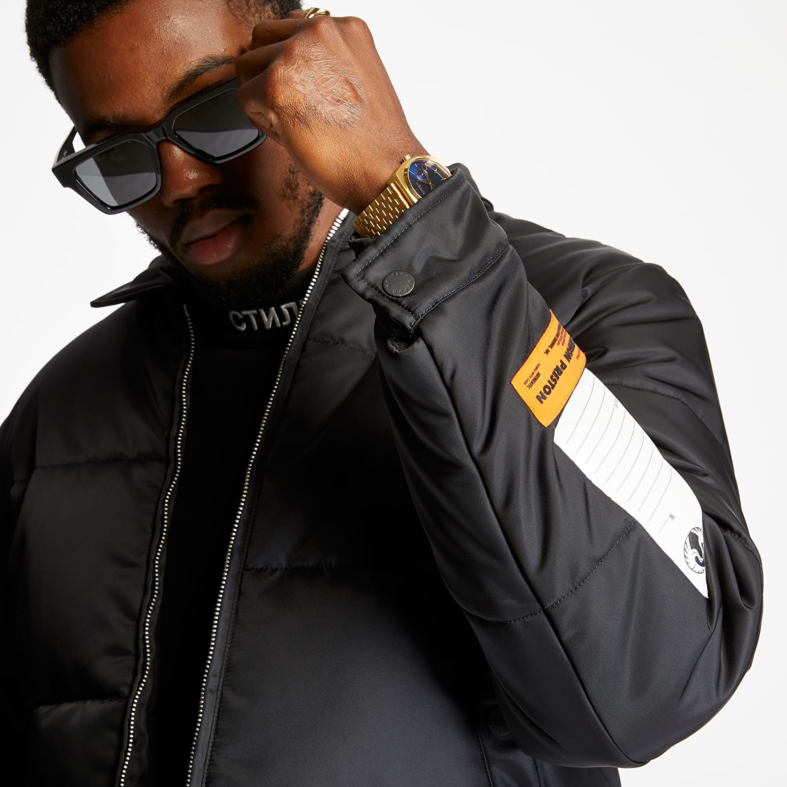 Geci HERON PRESTON Puffer Jacket Black