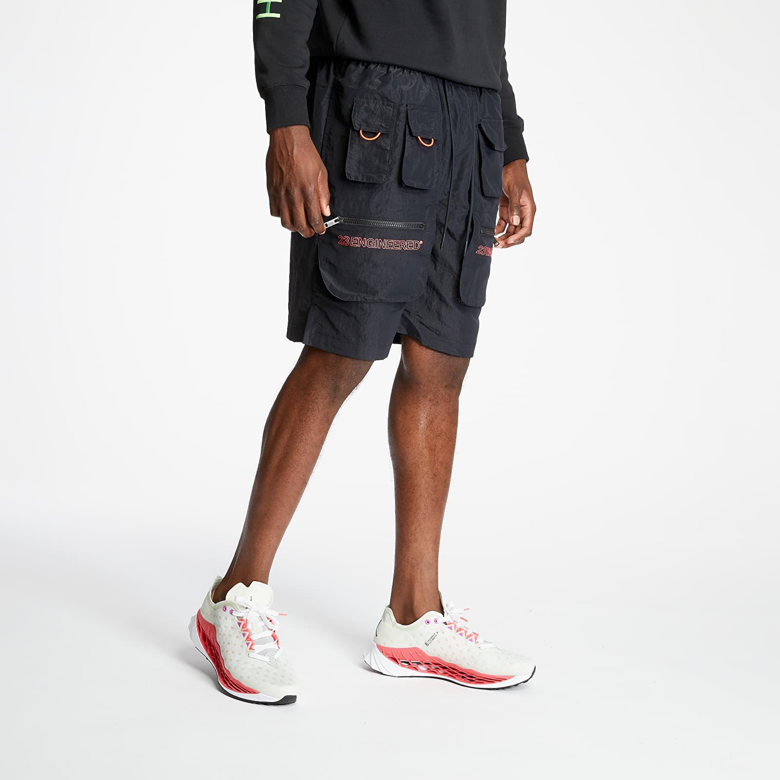 Pantalones cortos Jordan 23 Engineered Utility Shorts Black/ Infrared 23