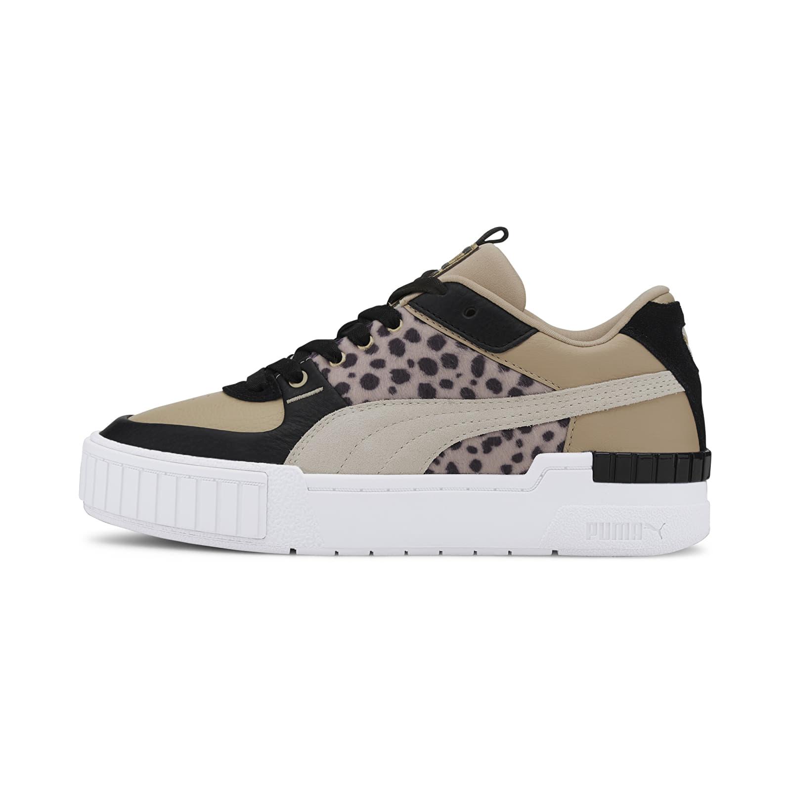 Dámske topánky a tenisky Puma Cali Sport W.Cats Wn s Pale Khaki-Puma White