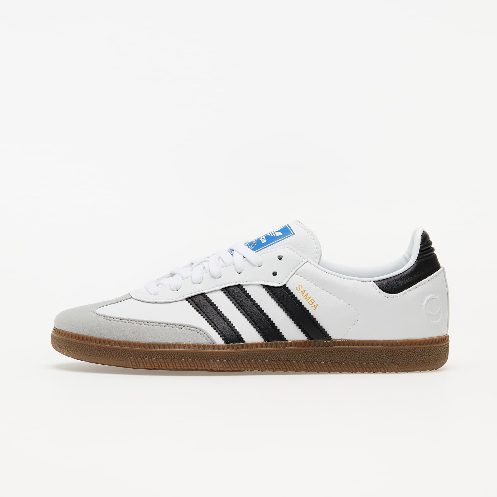 flotante métrico Odia  Men's shoes adidas Samba Vegan Ftw White/ Core Black/ Gum 5 | Footshop