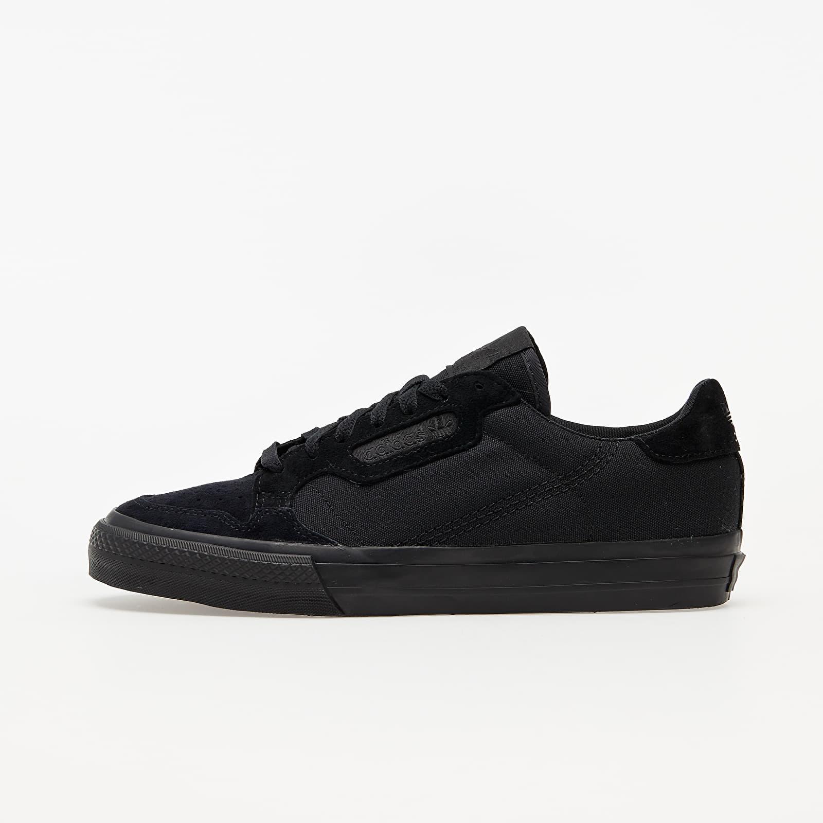 adidas Continental Vulc Core Black/ Core Black/ Ftw White EUR 44
