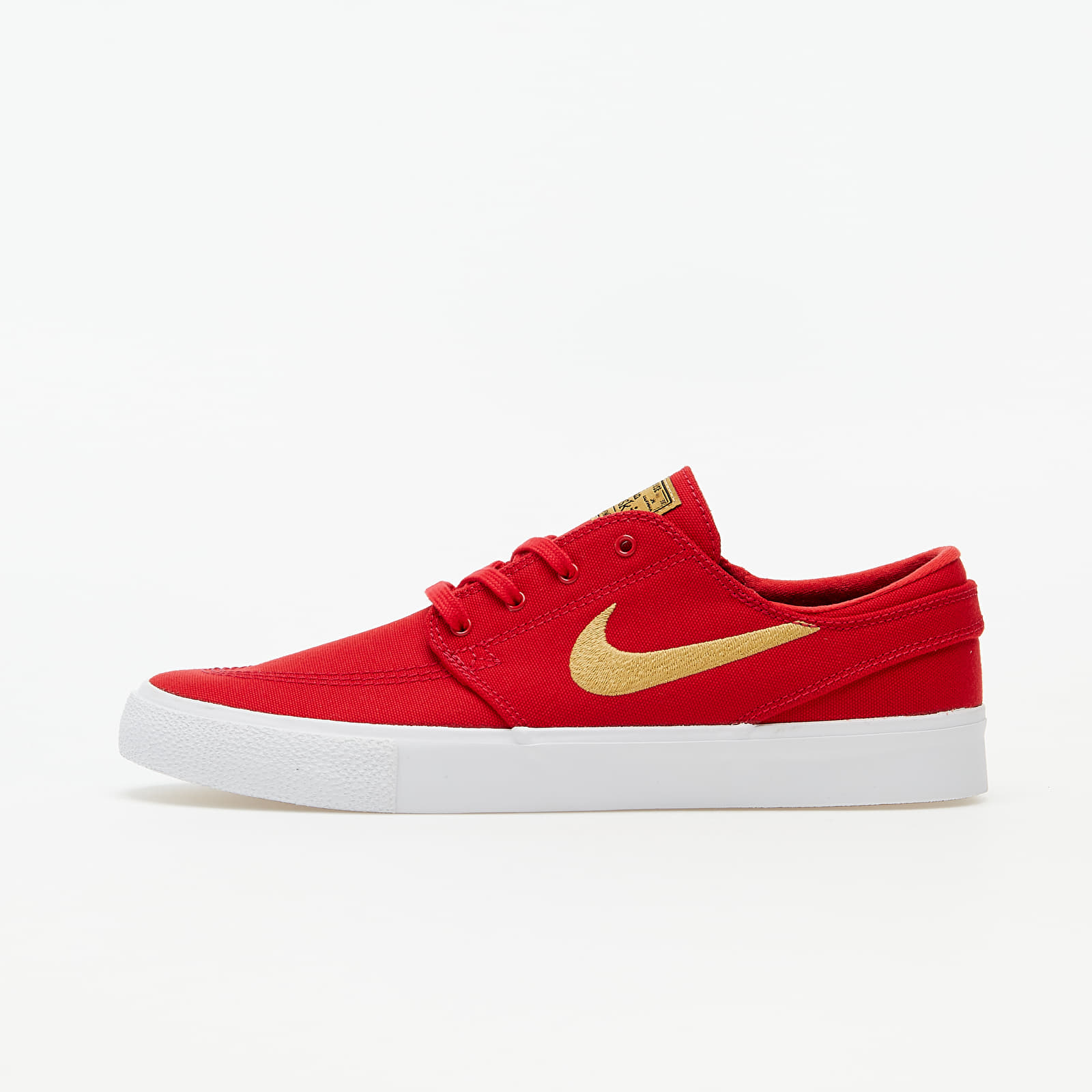 Pánske tenisky a topánky Nike SB Zoom Stefan Janoski Canvas RM University Red/ Club Gold-University Red