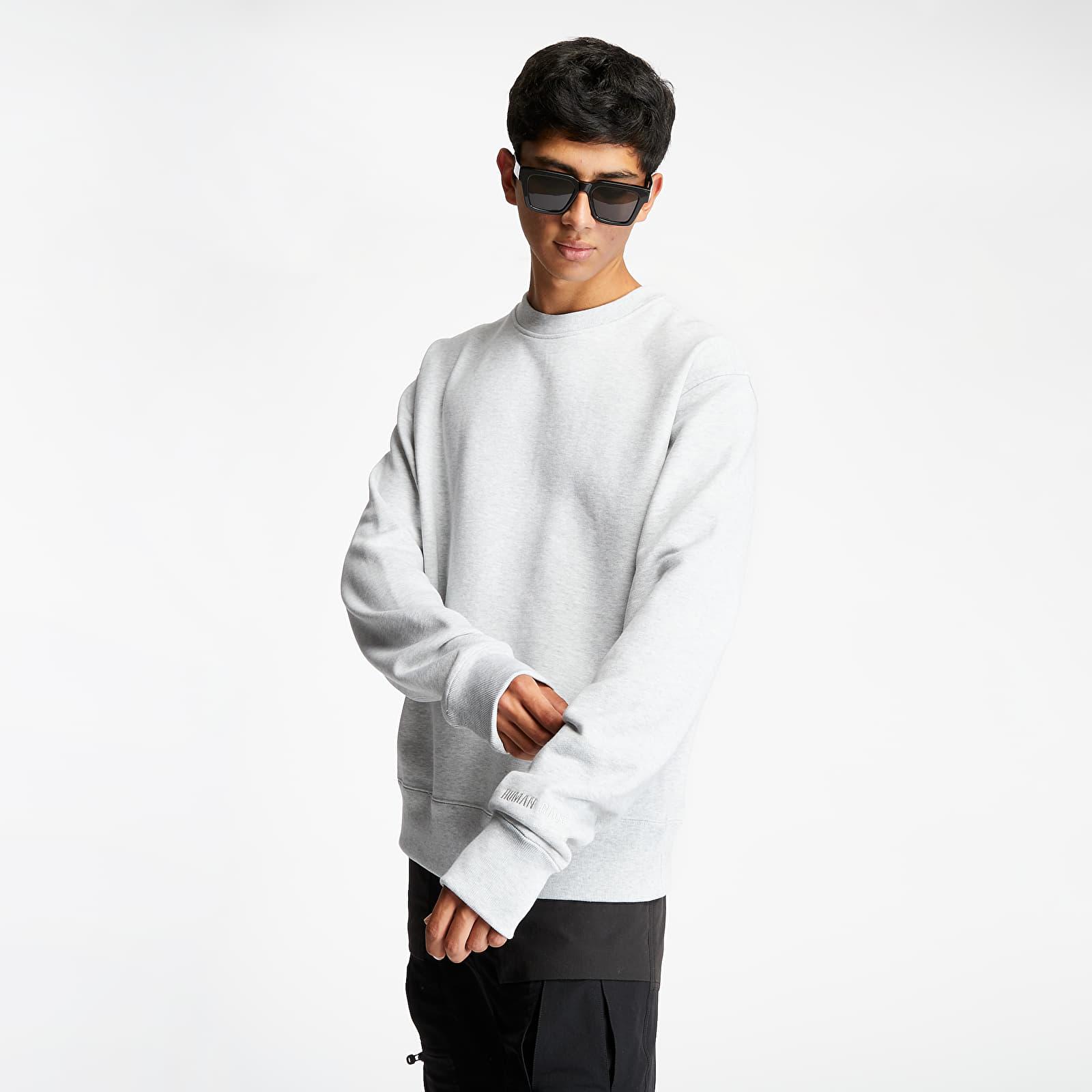 Sweatshirts adidas x Pharrell Williams Basics Crewneck Light Grey Heather