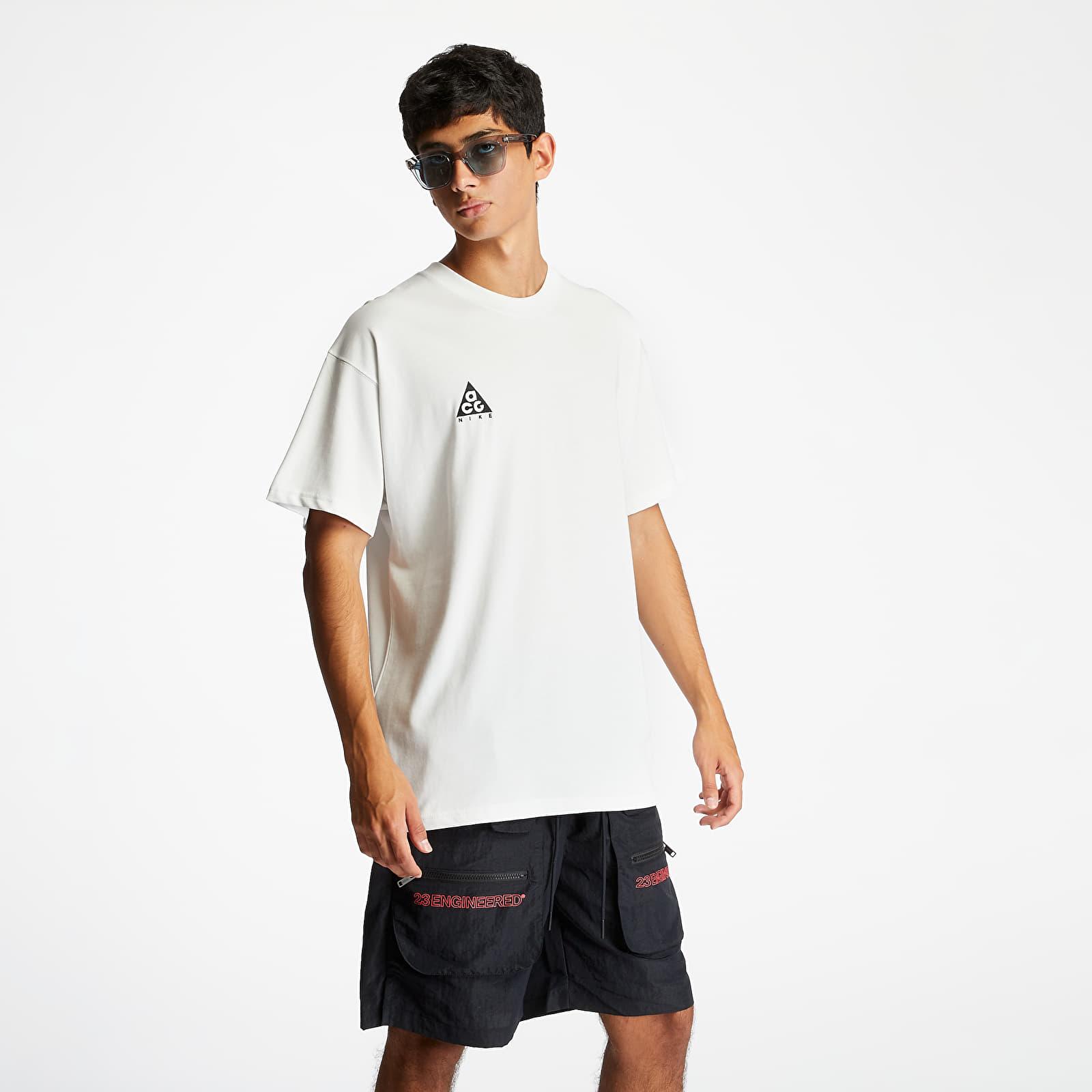 T-Shirts Nike NRG ACG Logo Tee Summit White/ Black