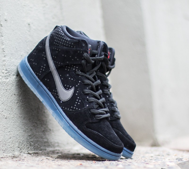 cfa5654dac66 Nike Dunk High Premium Flash SB Black  Black-Clear