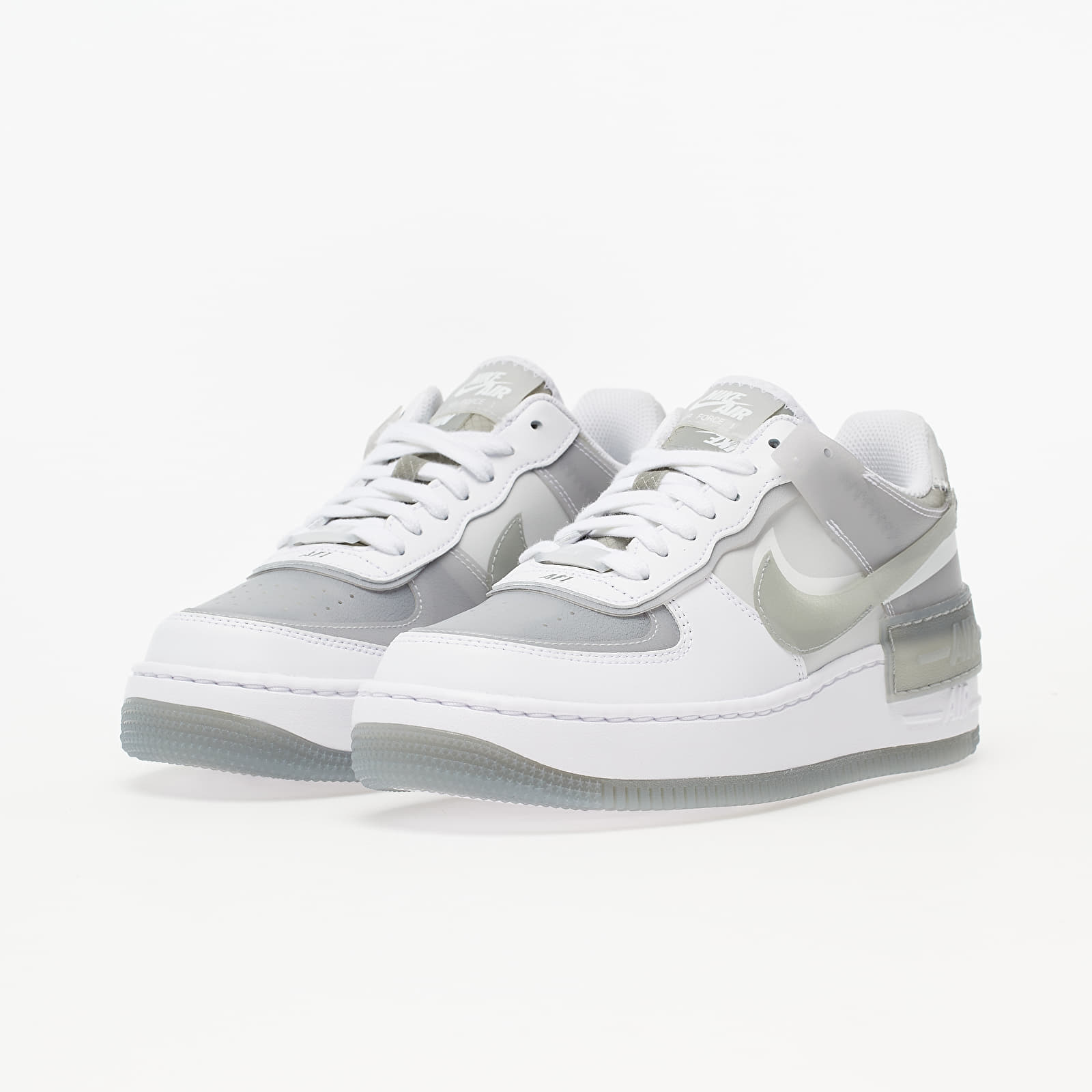 Chaussures et baskets femme Nike Air Force 1 Shadow SE White ...