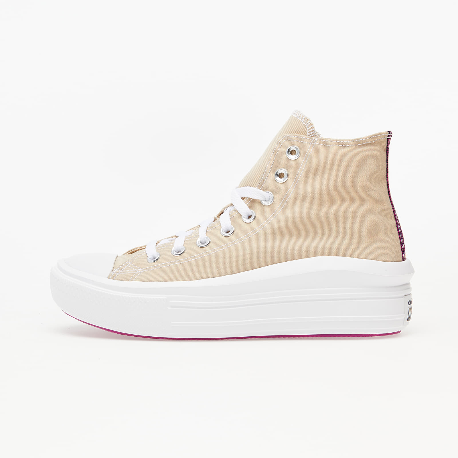 Chaussures et baskets femme Converse Chuck Taylor All Star Move Farro/ Cactus Flower/ White