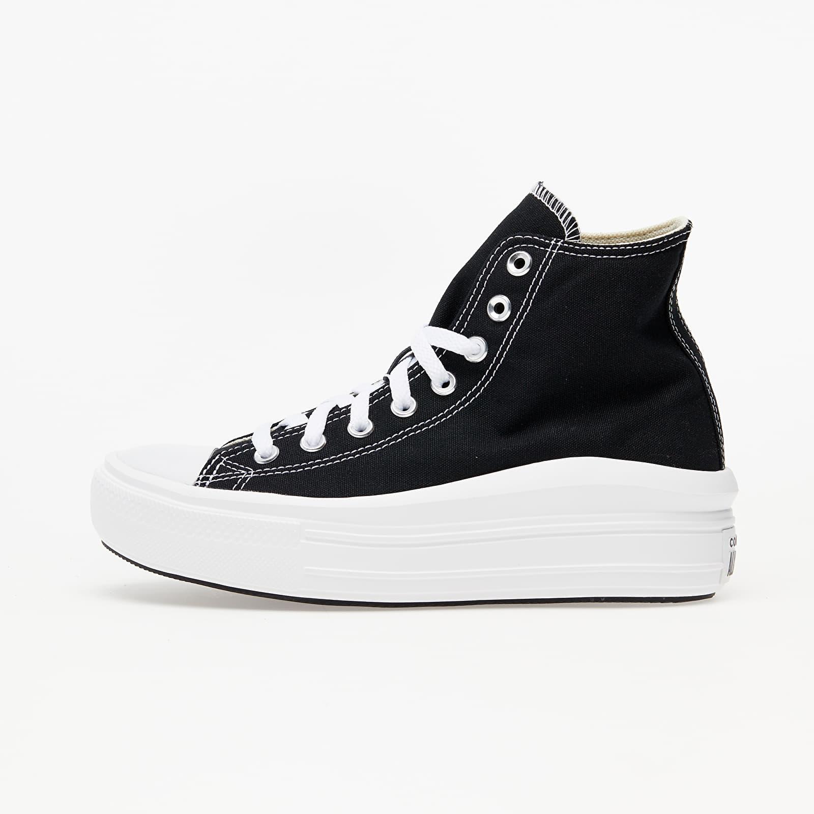 Женская обувь Converse Chuck Taylor All Star Move Black/ Natural Ivory/ White