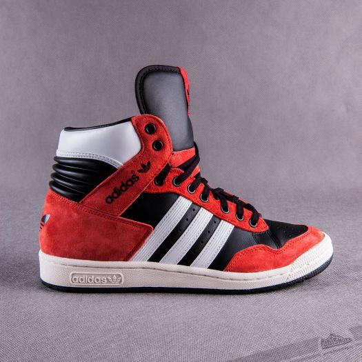 adidas Pro Conference HI Black Red White | Footshop