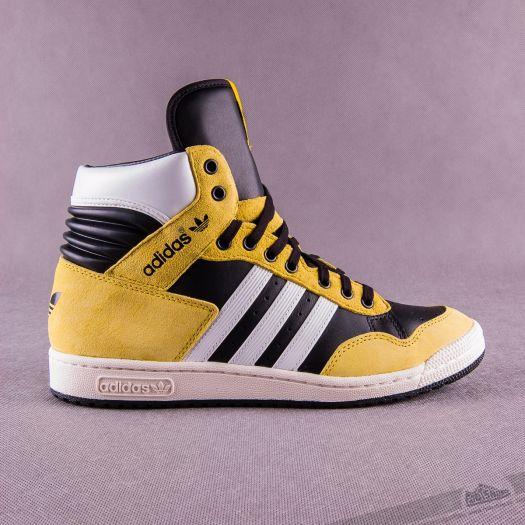 romano sexual Jarra  Men's shoes adidas Originals pánské luxusní kotníkové boty PRO CONFERENCE  HI - Žluto černo bílé G95984