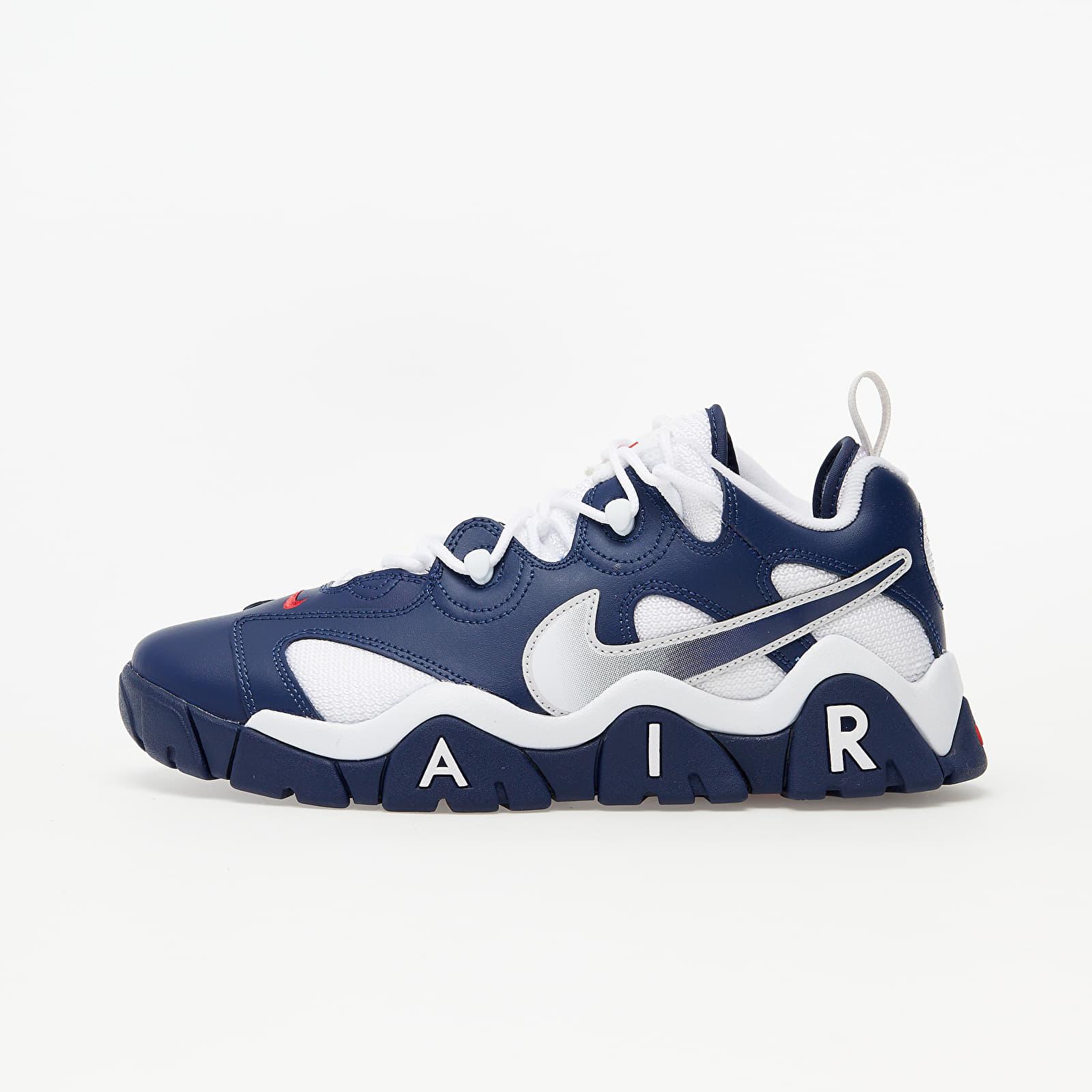 Nike Air Barrage Low Midnight Navy/ Midnight Navy-White, Blue