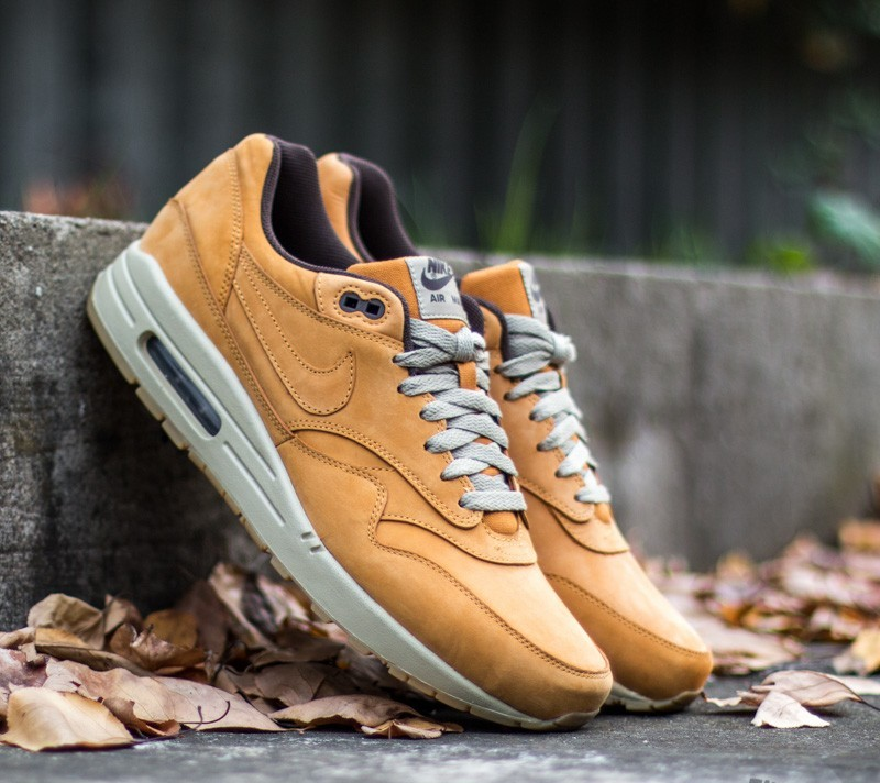 Nike Air Max 1 Leather Premium Bronze Bronze Baroque Brown | Footshop