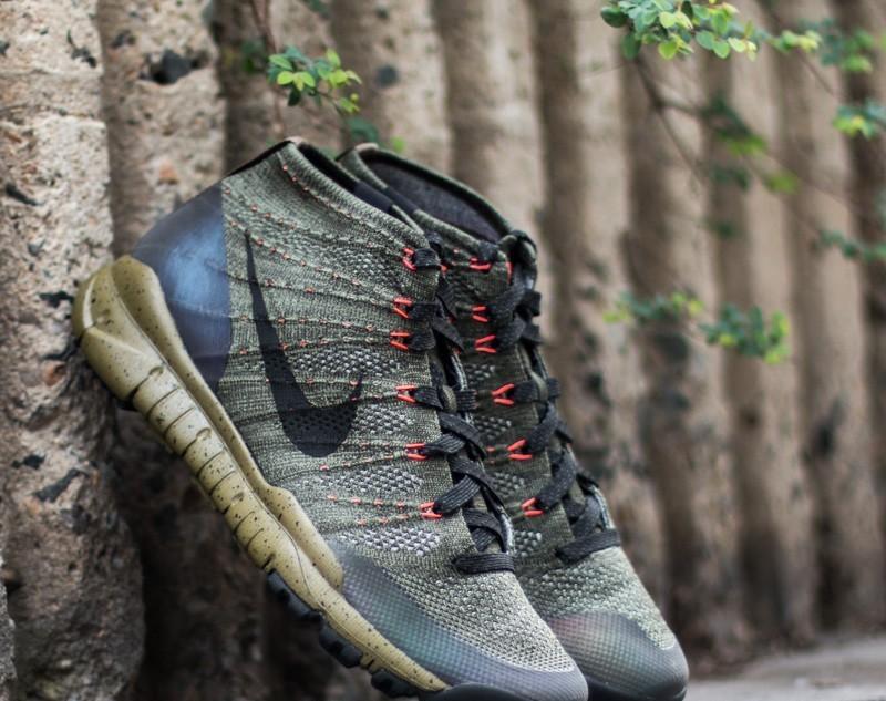 Nike Flyknit Trainer Chukka Fsb Sequoia/ Black | Footshop