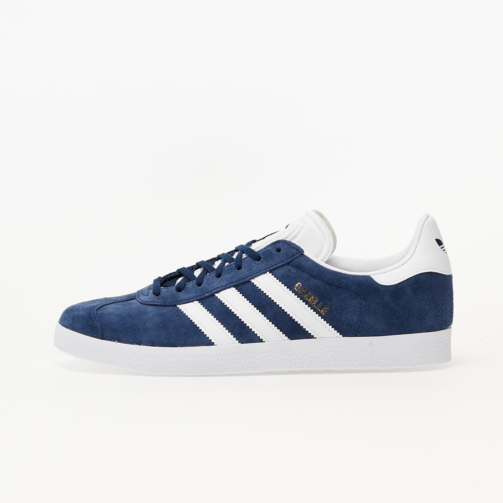Men's shoes adidas Gazelle Core Navy/ White/ Gold Metalic