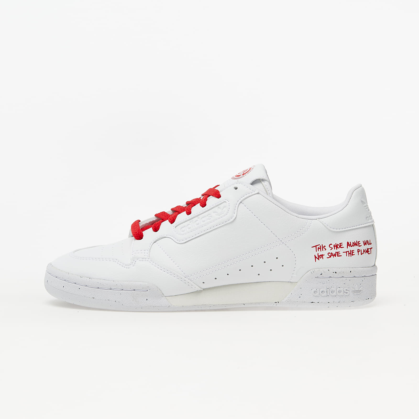 Men's shoes adidas Continental 80 Clean Classics Ftw White/ Ftw White/ Scarlet