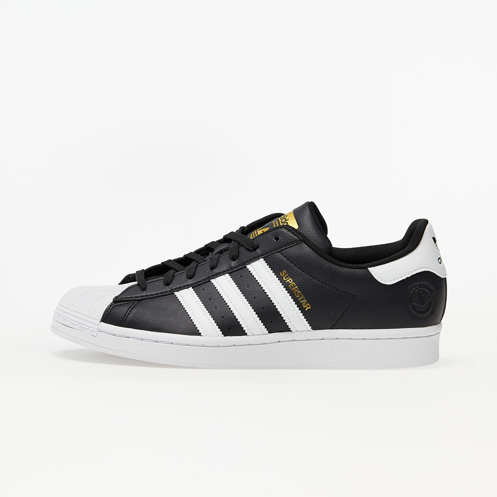adidas Superstar Vegan Core Black/ Ftw White/ Gold Metalic EUR 38