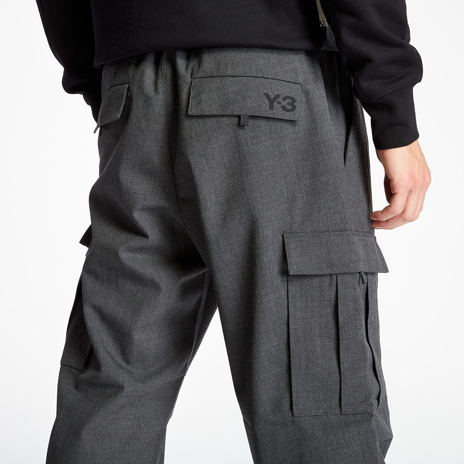 Pantalons Y-3 Classic Wo Cargo Pants Charcoal