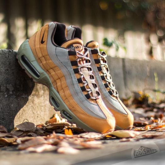 Nike Shoes | Air Max 95 Premium Bronze Wheat Brown Bamboo
