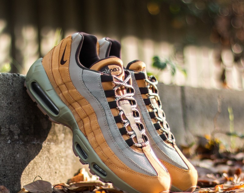 new styles b564b 5c141 Nike Air Max 95 Premium Bronze  Baroque Brown-Bamboo